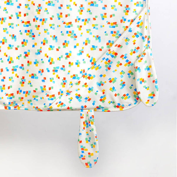 DAY - Printed Baby Blanket With Hood and Ears - Multicolour