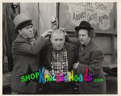 The Three Stooges CACTUS REMEDY 8x10: #15 - READY TO SHIP