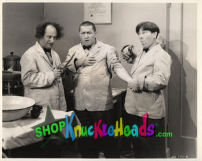 The Three Stooges DOCTORS 8x10: #17 - READY TO SHIP