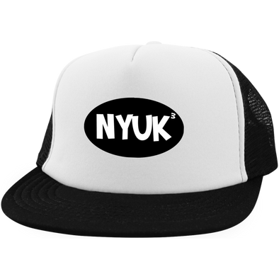 Three Stooges Trucker Hat with Snapback - NYUK To The 3rd Power