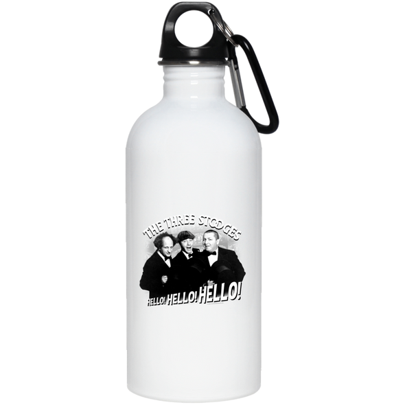 Three Stooges 20 oz. Stainless Steel Water Bottle