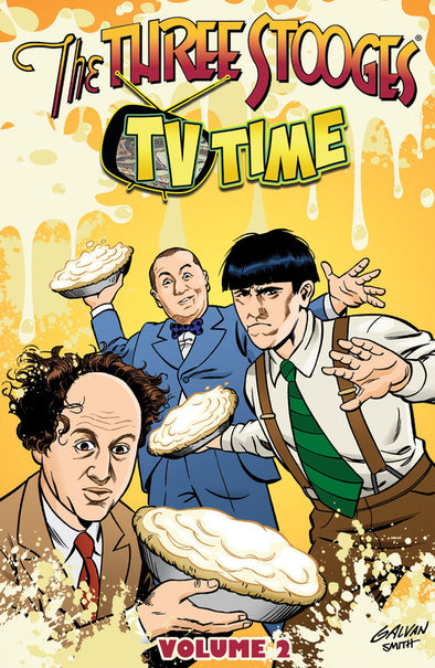 Three Stooges Volume 2 Trade Paperback Graphic Novel