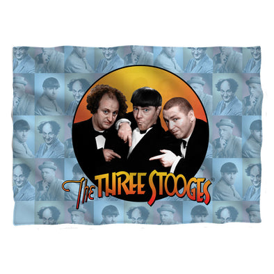 The Three Stooges Pillow Case: Portraits - 20x28 - One Size - Allow 7 business day processing time before available to ship