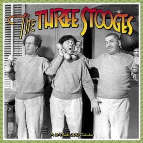 Three Stooges 2019 Wall Calendar