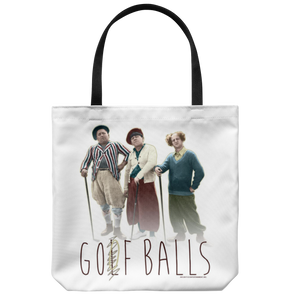 THREE STOOGES GOOF BALLS TOTE BAG - FREE SHIPPING