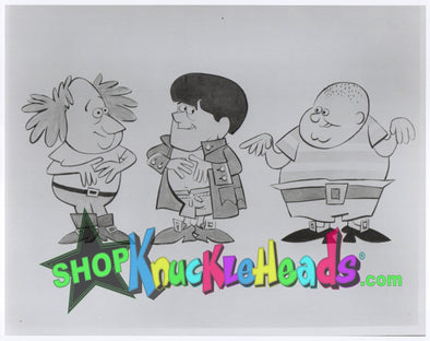 The Three Stooges CARTOONS 8x10: #9 - READY TO SHIP