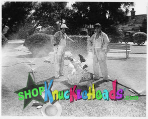 The Three Stooges SPRINKLER FUN 8x10: #6 - READY TO SHIP