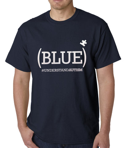 AUTISM Mens T-shirt Navy Blue