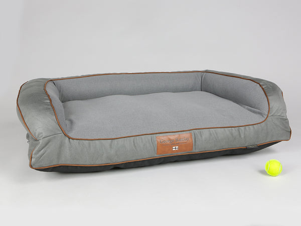 Beckley Sofa Bed - Pewter / Ash, Large - 120 x 75 x 27cm
