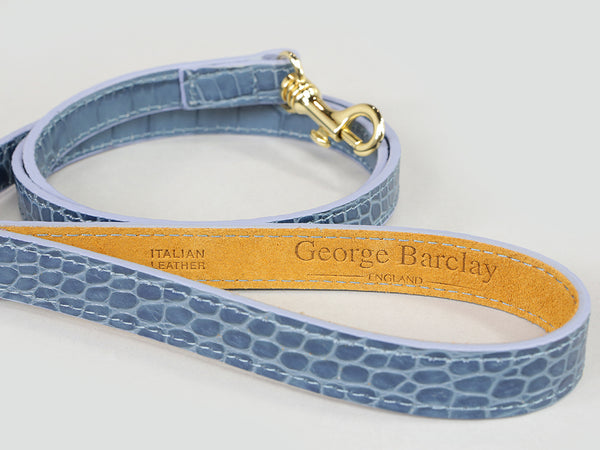 Holmsley Leather Lead – Regal Blue, 120cm (47in.)