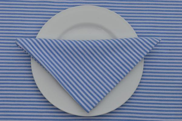 Checked & Striped Table Linen