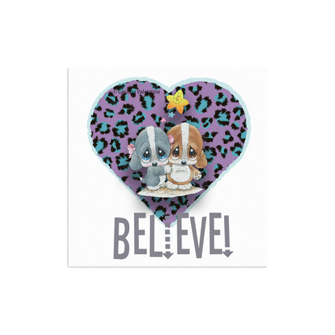 Believe Canvas 12x12