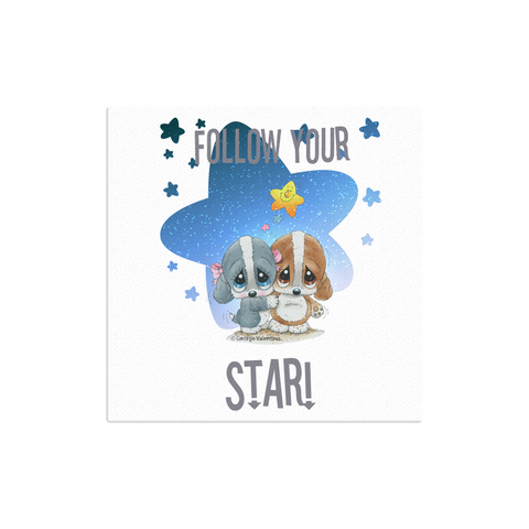 Follow Your Star Canvas 12x12