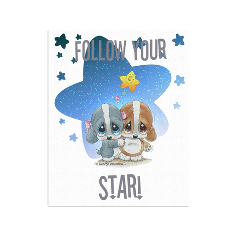Follow Your Star Canvas 16x20