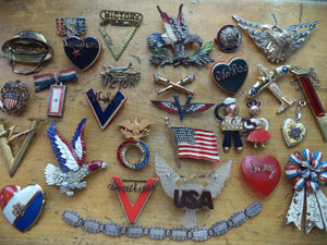 Patriotic Jewelry Past and Present
