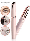 Electronic Pen Hair Remover Painless Eye brow Razor Smart Travel Gadgets Unisex