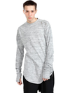 Mens Super Long Body and Sleeve Cotton Tshirt