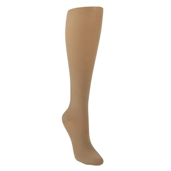 Sigvaris 841 Soft Opaque Open Toe Knee Highs - 15-20 mmHg