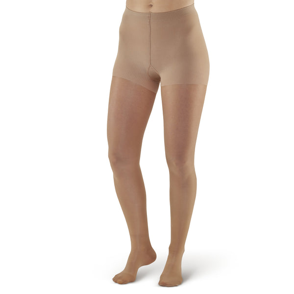 AW Style 383 Signature Sheers Closed Toe Pantyhose - 30-40 mmHg - Beige