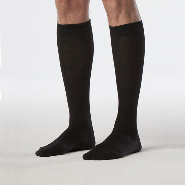 Sigvaris Compression Socks 192 Zurich Collection Men's All-Season Wool Socks  - 15-20 mmHg