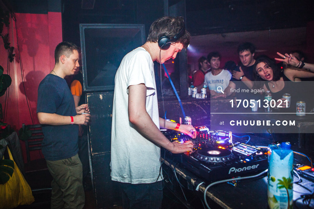 170512021 |  Pangaea & Ben UFO at the decks.  —Sublimate: Hessle Audio 10: Ben UFO, Pangaea, Pearson Soun... | Team Chuubie