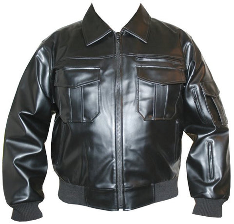 NEW CARGO FASHION MOTORCYCLE BIKE NEW JACKET BLACK