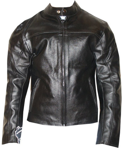 LADIES LEATHER CE ARMOR JACKET MOTORCYCLE WOMEN