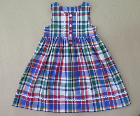 Plaid Kambria Dress