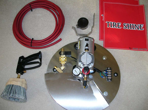 Car Wash Vacuum to Tire Shine Conversion Kit