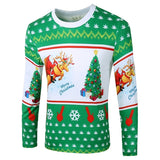 Mens Cannabis Christmas Sweater