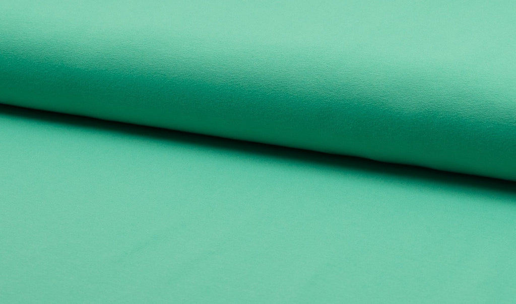 Mint, Solids, Jersey Knit Fabric by the 1/2 Meter, European knits