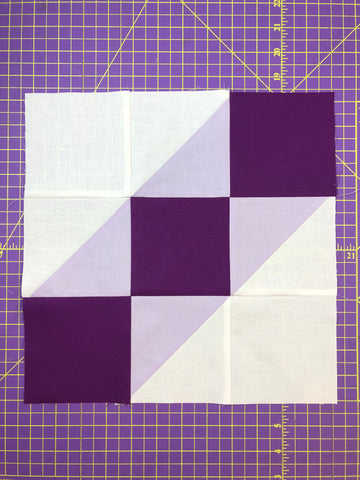 Road To California Quilt Block Fabric Kit - Week One of 50 Blocks in 50 Weeks