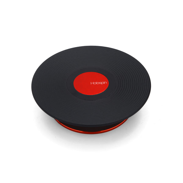 Holospin Black Red Dot