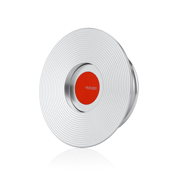 Holospin Silver Red Dot