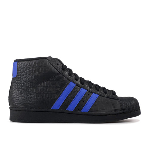 ADIDAS Pro Model, Black/ Royal Blue
