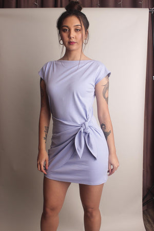 Chai Wrap Dress ~ Lilac