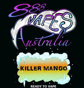 888Vapes - Chilled Killer Mango - Vape Gold Coast