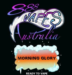 888Vapes - Chilled Morning Glory - Vape Gold Coast