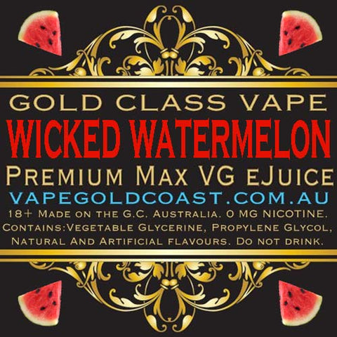 Gold Class Vape - Wicked Watermelon (Watermelon) - Vape Gold Coast