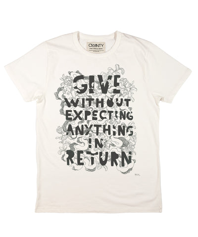 Mateus Bailon Give T-Shirt White