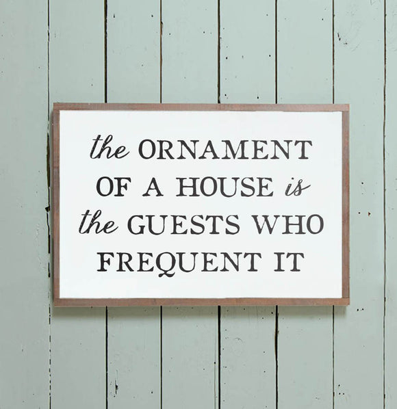 """Guests"" Wall Sign - The Painted Porch Co"