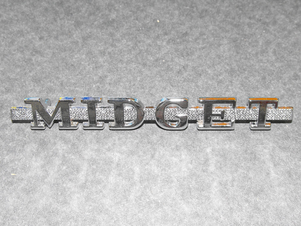 MIDGET TRUNK BADGE 1961-1969