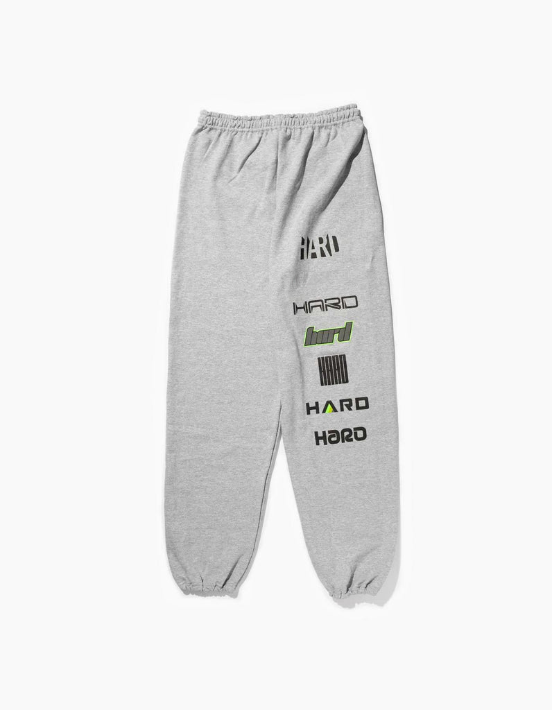 HARD Summer 2019 Logos Sweatpants Gray