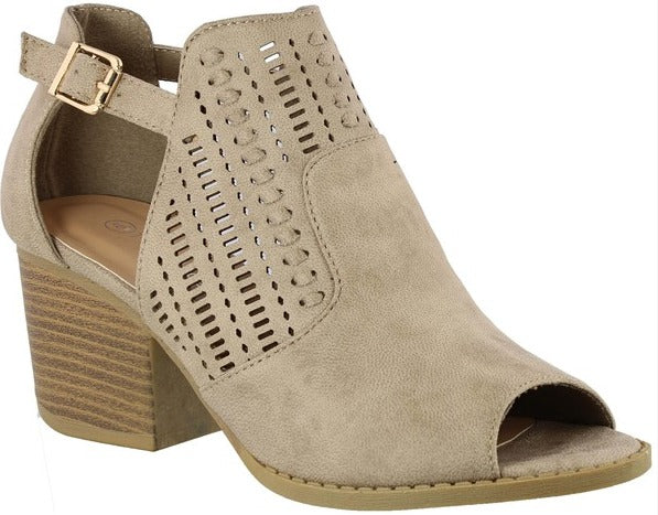 Shoes - Darcie Cutout Booties