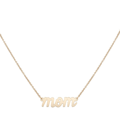 Mom Necklace - Bianca Pratt Jewelry