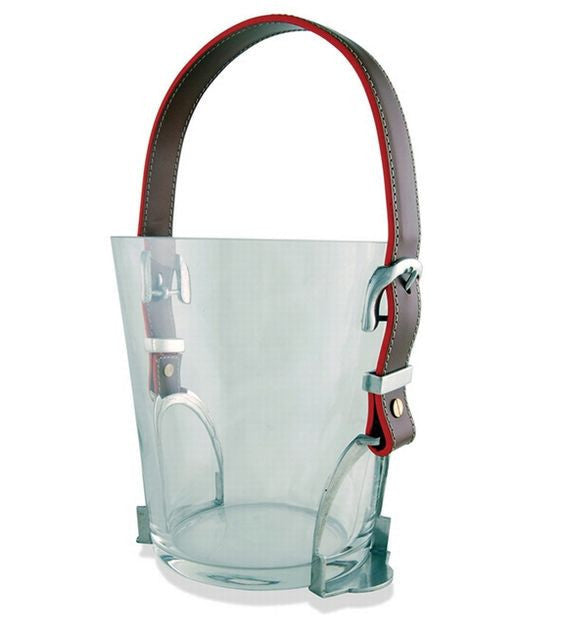 Small Stirrup Ice Glass Bucket