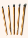 Lustre Pro Makeup Eye Brush Set Gold Edition (Valued at $48)