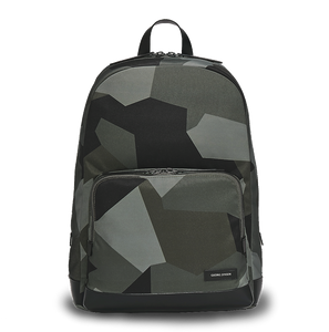 PURITY Leather-Trimmed Nylon Backpack - L / Camouflage