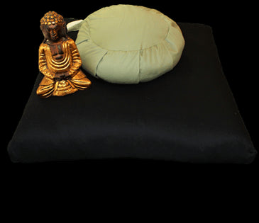 Zabuton Meditation Covers in 100% Organic Cotton Twill Fabric - WLH B