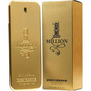 1 Million Cologne For Men by Paco Rabbane EDT 6.8 Oz Spray For Men